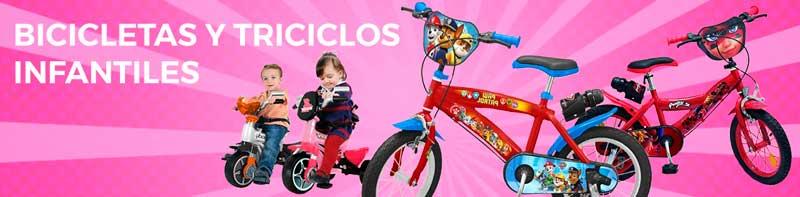 Bicicletas y triciclos infantiles
