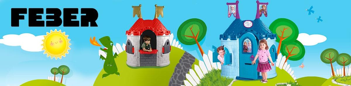 Castillo de princesas para jardin