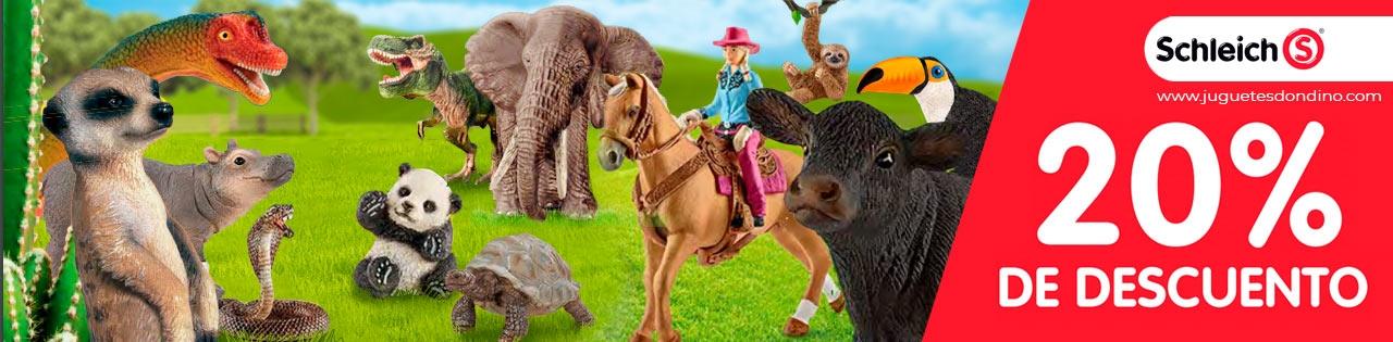 Figuras Schleich animales y dinosaurios