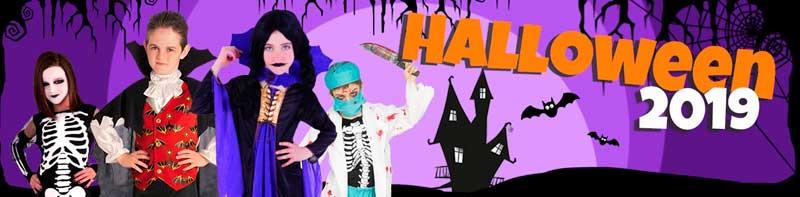 Halloween todo disfraces, complementos, decoración y maquillaje.