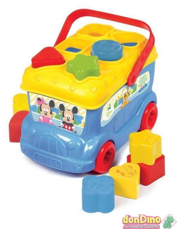 Autobus baby mickey formas