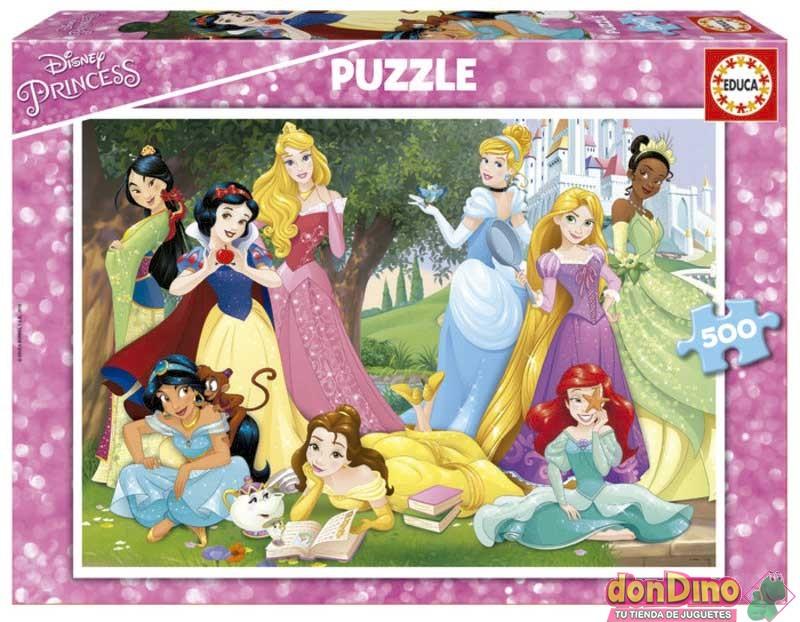 Puzzle 500 pzas. princesas disney