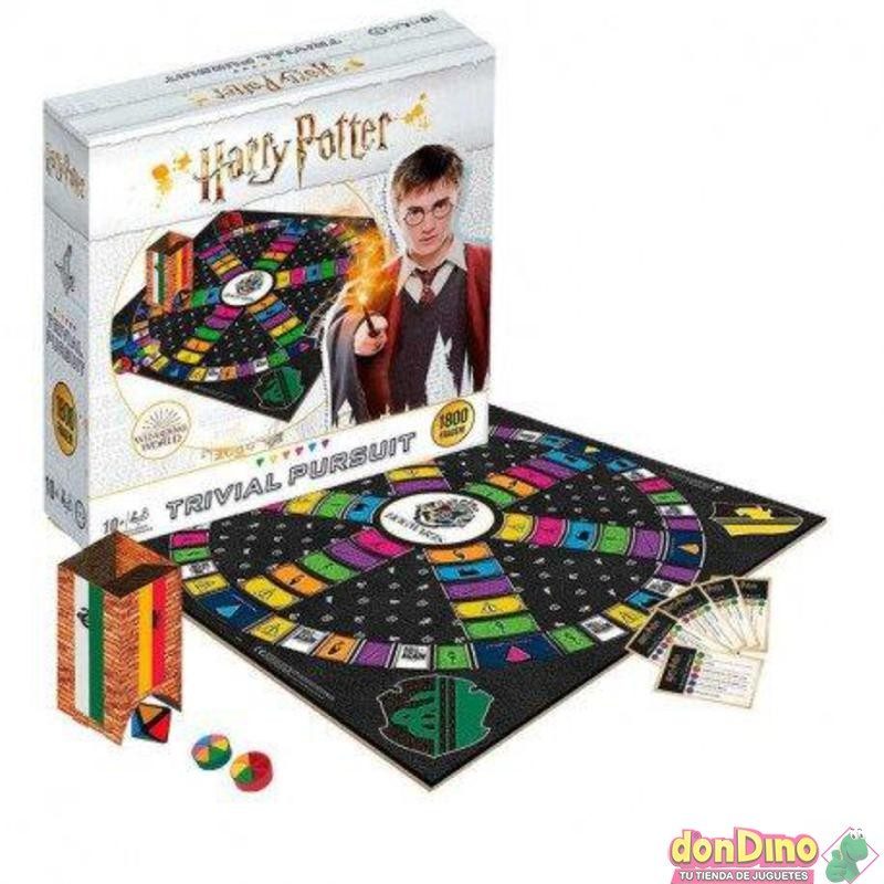 Juego trivial pursuit harry potter