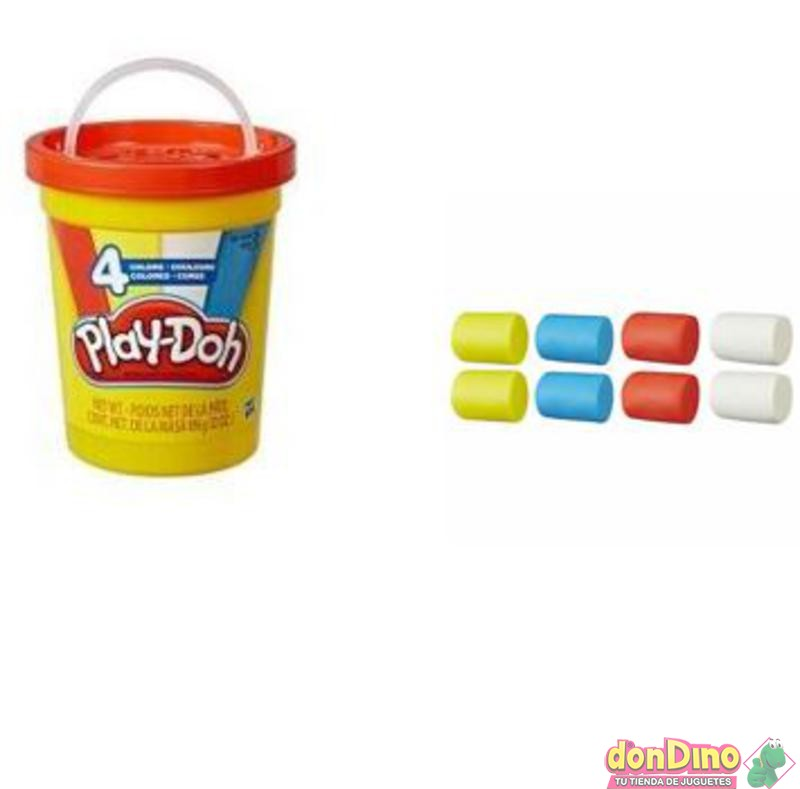 Super cubo 4 colores play-doh