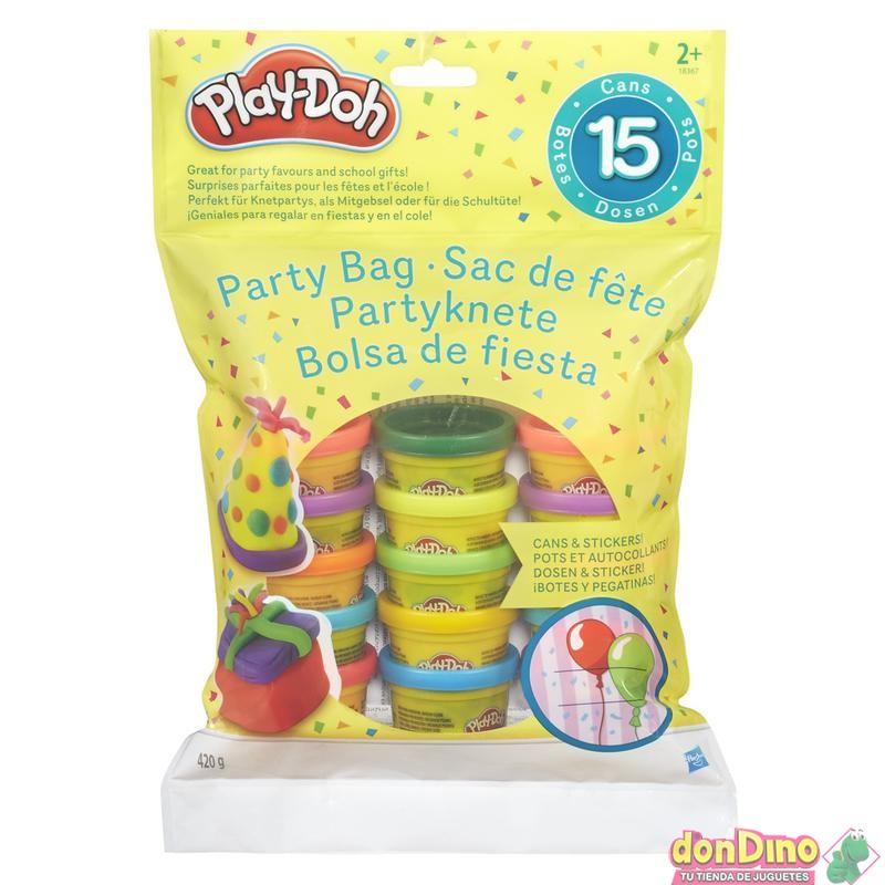 Bolsa de fiesta 15 botes play-doh
