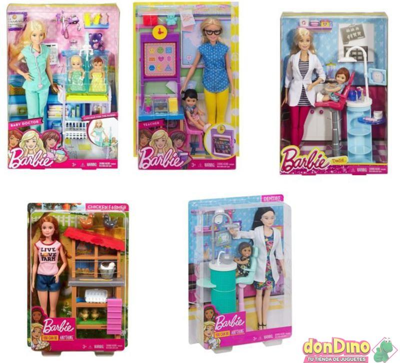 Barbie quiero ser... c/accesorios