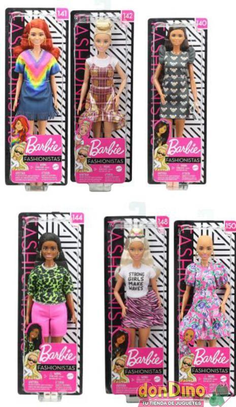 Barbie fashionistas surtidas