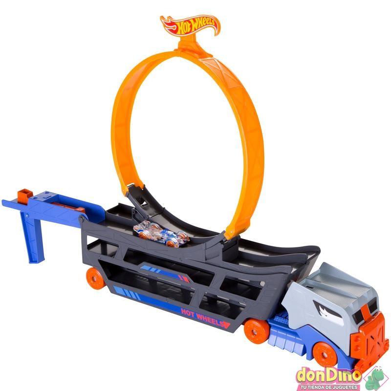 Camion looping acrobatico hot wheel
