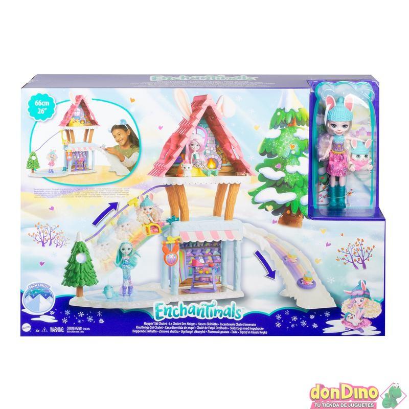 Casa divertida esqui enchantimals