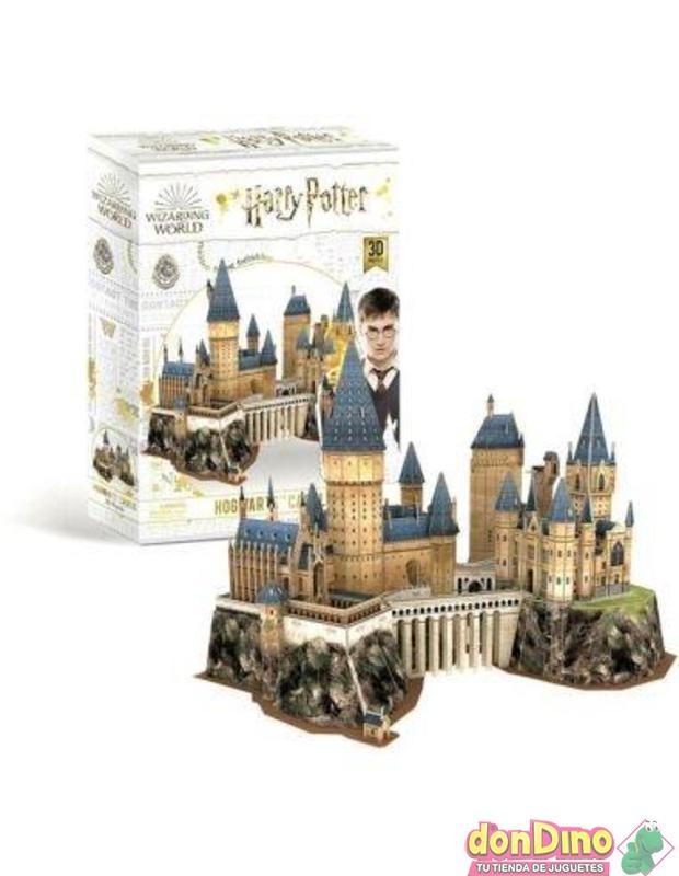 Puzzle 3d castillo hogwarts 197 pz.