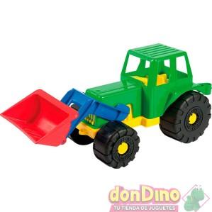 Tractor c/pala 30x14cm. surtido