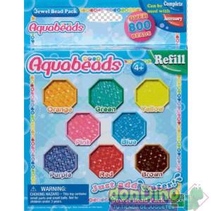 Pack abalorios joyas aquabeads