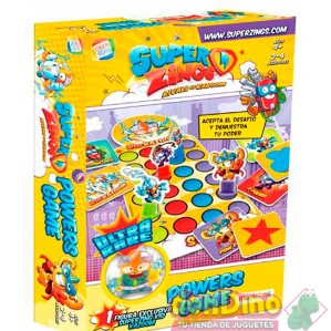 Juego super zings powers