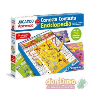 Juego conecta contesta enciclopedia