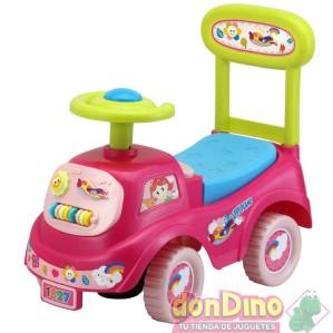 Correpasillos smart ride-on rosa