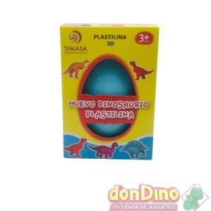 Huevo dinosaurio plastilina