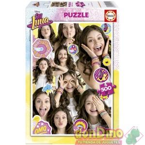 Puzzle 500 pzas. soy luna