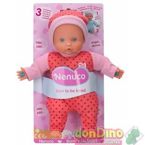 Muñeco nenuco 3 funciones