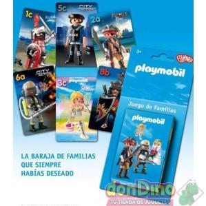 Baraja playmobil juego de familias