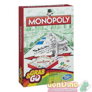 Juego monopoly grab & go