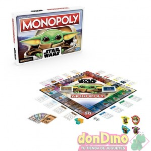 Juego monopoly baby yoda