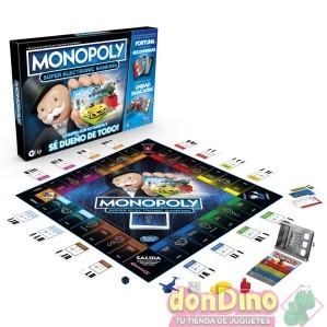 Juego monopoly super electr.banking