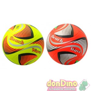Balon futbol playa beach wave surt.