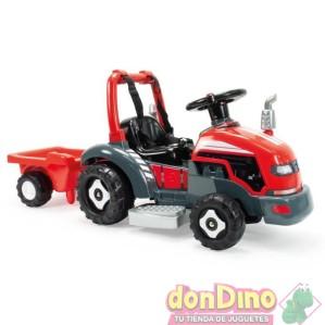 Tractor little electrico 6v 2en1