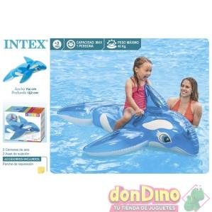 Figura ballena hinchable 152x114cm