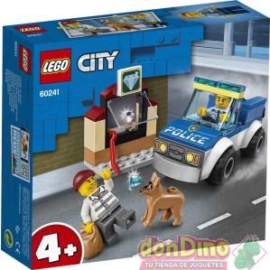 Policia: unidad canina lego city