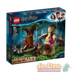 Bosque c/gigante lego harry potter