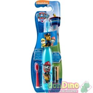 Cepillo dental elec.patrulla canina