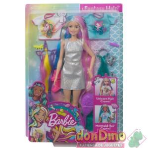 Barbie pelo de fantasia