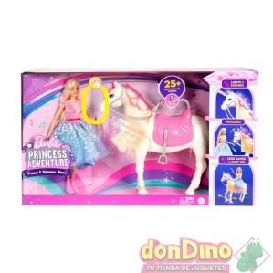 Barbie y caballo princess adventure