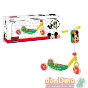 Patinete 3 ruedas mickey superpilot