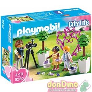 Niños y fotografo playmobil