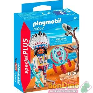 Jefe nativo americano playmobil