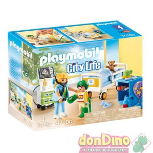 Sala hospital infantil playmobil