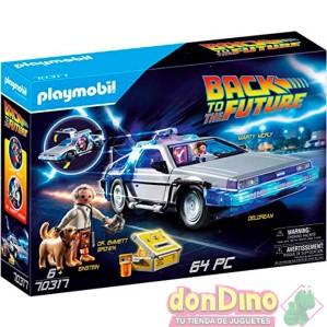 Delorean playmobil back to future