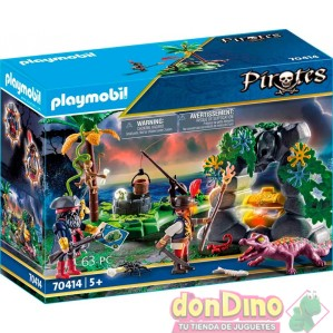 Escondite pirata playmobil pirates