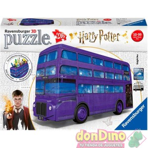 Puzzle 3D Autobús Noctámbulo Harry Potter 216 pzas.