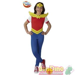 Disfraz wonder woman 9-10 años