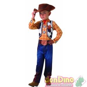 Disfraz woody toy story 7-8 años