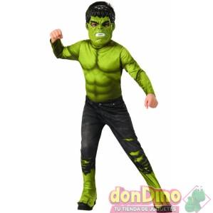 Disfraz hulk 8-10 años