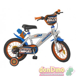 Bicicleta 14'' speed bike toimsa