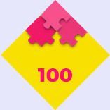 Puzzles de 100 piezas