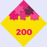 Puzzles de 200 piezas