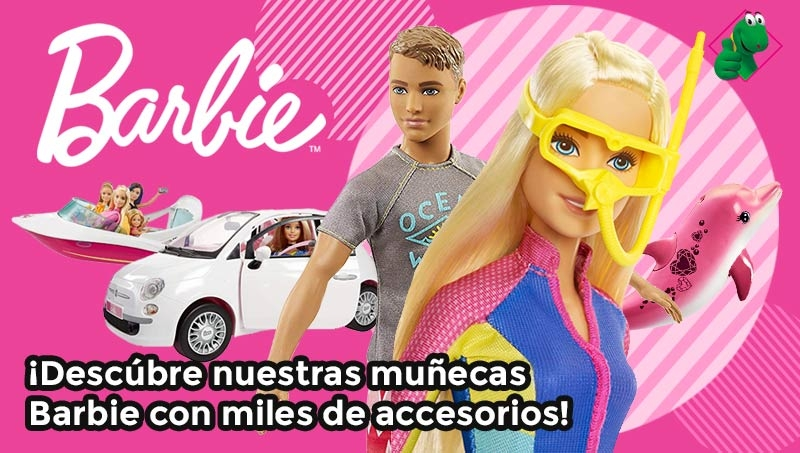 Muñecas Barbie comprar online